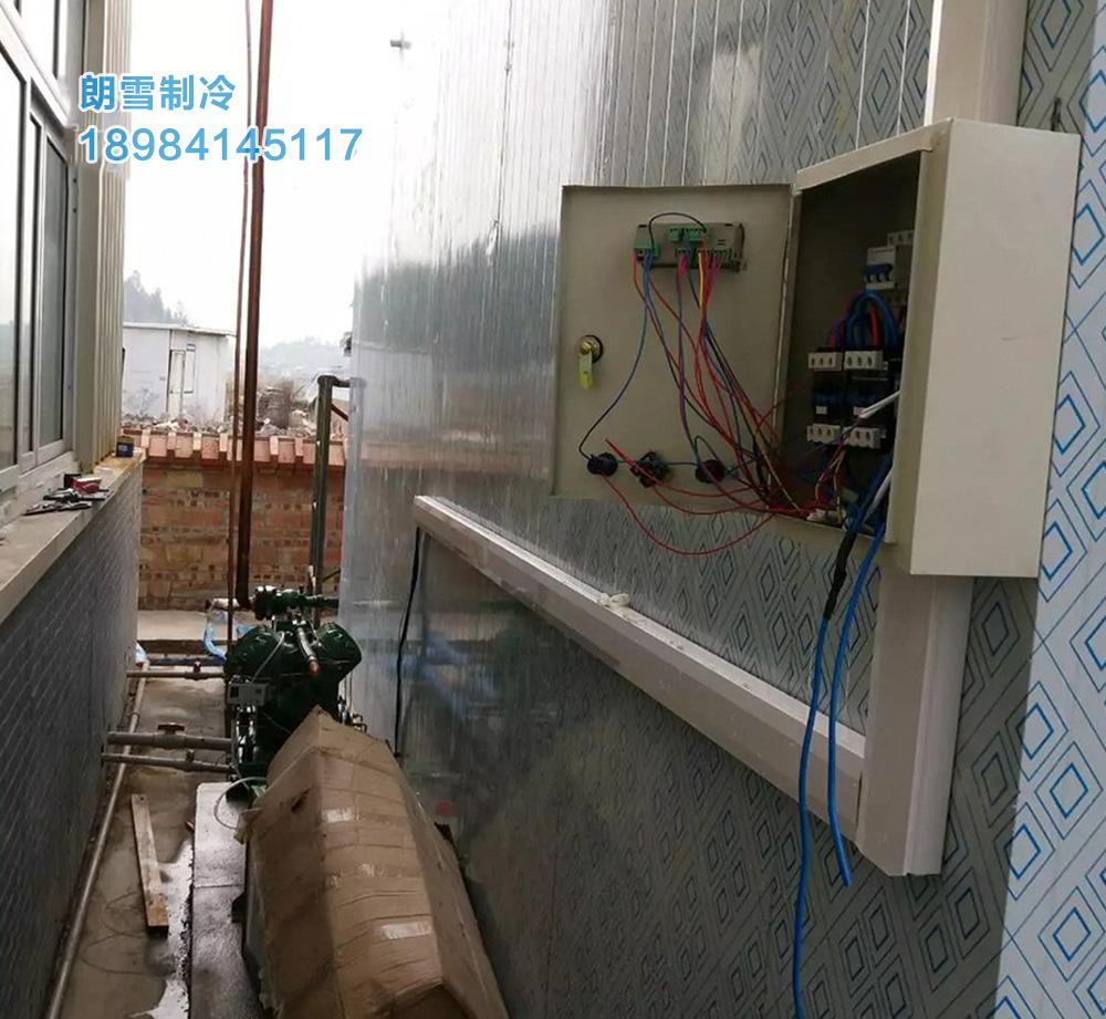 四川遂宁大中型冷库安装